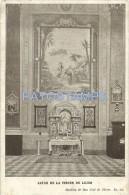 8355 ARGENTINA FLORES BS AS CHURCH BASILICA DE SAN JOSE DE FLORES ALTAR DE LA VIRGEN DE LUJAN INTERIOR POSTAL POSTCARD - Argentinien