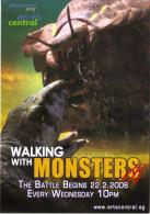 "15S :  Movie Film Poster Postcard ""walking With Monsters"" - Afiches En Tarjetas"