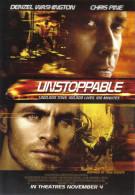 "15S :  Movie Film Poster Postcard ""Unstoppable"" - Afiches En Tarjetas"