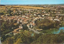CPSM       Magnac Sur Touvre  L´église Et Le Pont Sur La Touvre       P  3441 - France