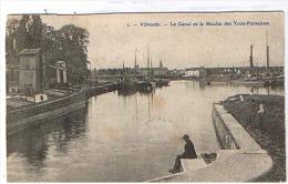 Vilvoorde - 1  Le Canal Et Le Moulin Des Trois-fontaines - Vilvoorde