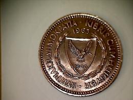 Chypre 5 Mils 1963 - Chypre