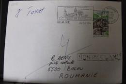 France 1994, Timbre Sur Lettre N° 2905 Parc De Saint-Cloud - France