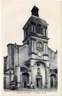 3 Cpa Barsac - L'église, Bord Du Ciron, Entrée - France