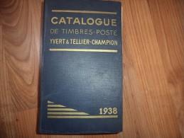 Yvert Et Tellier De 1938 - 1312 Pages - Francia