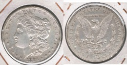 EE.UU USA DOLLAR MORGAN 1882 SAN FRANCISCO PLATA SILVER - 1878-1921: Morgan