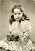 2077.Jos - Fillette En Costume De Quimper Et Du Porzay-timbre Verso N°1037 Marseille 1953 - Quimper