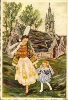 Ed Gaby.86 En Partcourant La Bretagne  H.Homualk - Pont- L´Abbé. Chapelle De Tréminou 1952 - Pont L'Abbe