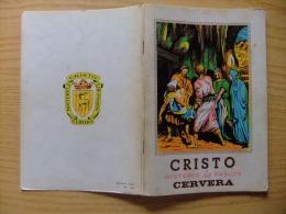 LIBRO INFORMATIVO (MISTERIO DE LA PASION - CRISTO ) - REPORTAJE HISTORICO DE LA PASION EN CERVERA - Teatro