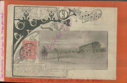 """CPA 57  ST PRIVAT A LA FERME DE JERUSALEM   """"Tableau Peint Par Neuville""""  """" Chaseurs Du 9 .... .  1970 Mai 2015  SAL 497 - France"""