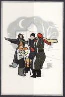 Sneeuwstorm - Cartes Postales