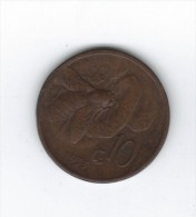 """RedL - 10 Centesimi """" Ape """" Del 1928 . RAME - 1861-1946 : Regno"""