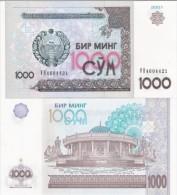 Uzbekistan - 1000 Sum 2001 UNС Ukr-OP - Usbekistan