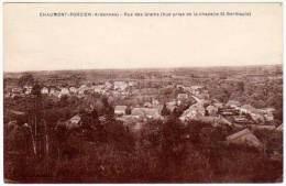 Chaumont Porcien - Rue Des Grains ( Vue Prise De La Chapelle St-Berthauld ) - France