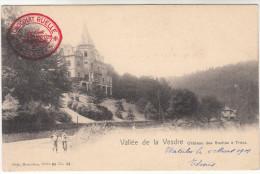 Vallée De La Vesdre, Château Des Roches A Trooz (pk17311)