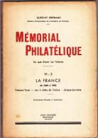 Mémorial Philatélique De Gustave Bertrand - France Timbres Taxe - Les à Cotés Du Timbre - Alsace Loraine - Philatélie Et Histoire Postale