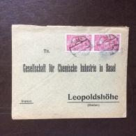 GERMANIA - OCCUPAZIONE CECA - BIALA Annullo Su COPPIA 10 H. SU BUSTA PER LEOPOLDCHOHE - 1910 - Deutschland
