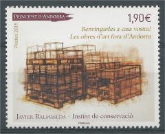 Andorra (French Adm.), Javier Balmaseda, Instint De Conservacio, 2015, MNH VF - Unused Stamps