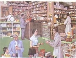 La Pharmacie  -  Carte Postale Editions Rossignol - Magasins
