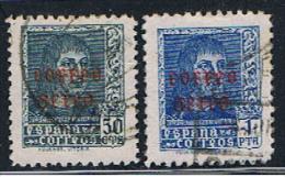 E 828** EDIFIL 845,846**1938** OBLITÉRÉ - 1931-Today: 2nd Rep - ... Juan Carlos I