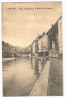 Namur, Pont De La Sambre Et Porte Du Grognon, Animée, Circulée - 2 Scans - Namur