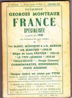 France Spécialisée - Monteaux 1975 - Philately And Postal History