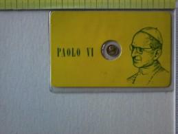 Medaglietta - In Blister - Papa Paolo VI - Giovanni Battista Montini. - Gettoni E Medaglie