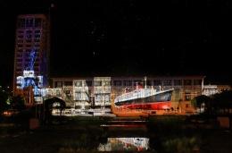Le Havre - Patrimoine Lumière 2008 50 Ans De L'Hotel De Ville Auguste Perret - Paquebot France - Le Havre