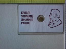 Medaglietta - In Blister -  Kruger Stephans Johannes Paulus - Detto OOm Paul - Politico Boero. - Gettoni E Medaglie