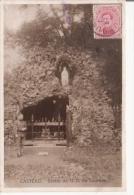CASTEAU CARTE PHOTO NOTRE DAME DE LOURDES 1920 - Soignies
