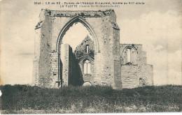 17  ILE De RE , La FLOTTE , Ruines De L,Abbaye - Ile De Ré