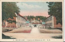 BITCHE CAMP - L'entrée Des Bâtiments Du 153è - Bitche