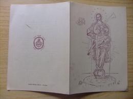 TRIGÉSIMO ANIVERSARIO DE SCHOLA CORDIS IESU -  Barcelona 1955 - Documentos Históricos