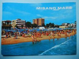 Misano Mare - Alberghi E Spiaggia Visti Dal Mare - Rimini