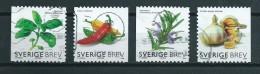 2009 Sweden Complete Set Herbs,kruiden Used/gebruikt/oblitere - Gebruikt