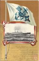 Allemagne - Carte Postale PAQUEBOT - BREMEN  - Seepost 1903 - Norddeutscher Lloyd Bremen - Paquebots