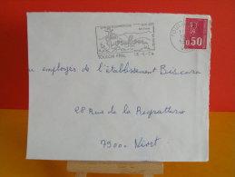Flamme - 83 Var, Toulon Sur Mer, Son Téléphérique Son Zoo - 18.6.1974 - Marcofilia (sobres)