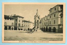 Avigliana - Piazzale Conte Rosso E Monumento Ai Caduti - Italie