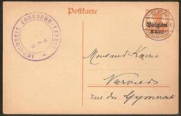POFTKARTE / POSTKAART - 7 1/2 - SPA ! Inzet Aan 5 € ! - Weltkrieg 1914-18