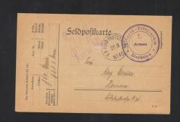 KuK Feldpost Etappen-Telegraphen Direktion 2. Armee 1915 - Briefe U. Dokumente
