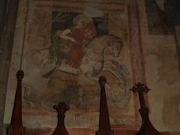 S.GIORGIO Martire cavallo drago  - Duomo PIACENZA - fotografia
