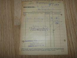 Saarbrücker Feinkostgrosshandel G.m.b.h. Dudweiler Saarbrücken 1948 Rechnung Deutschland - 1900 – 1949