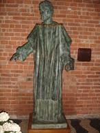 S.SAVINO Vescovo - statua Chiesa PIACENZA - fotografia