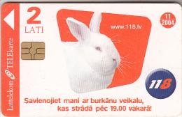 LATVIA - Rabbit, Exp.date 11/04, Used - Latvia