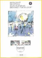 Allemagne RFA 1990 1281 1282 FDC Handball Rassemblements Sportifs - Hand-Ball