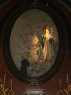 Apparizione Madonna MEDAGLIA MIRACOLOSA a S.CATERINA LABOURE' - Chiesa S.Savino PIACENZA - fotografia