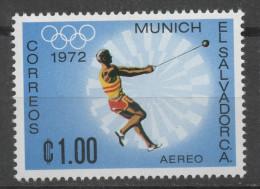 SALVADOR   PA 294   * *   Jo 1972  Lancer Du  Marteau - Atletiek