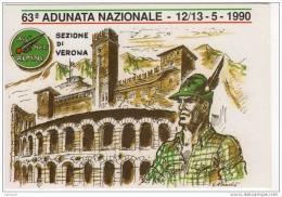 ^ ALPINI VERONA 63 ADUNATA NAZIONALE TORTELLINI RANA C2 - Régiments