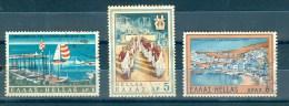 Greece, Yvert No 977/979 - Grèce