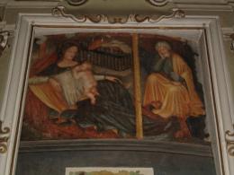 Madonna Latte Allatta con S.GIUSEPPE - Chiesa S.Anna PIACENZA - fotografia